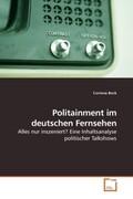 Politainment im deutschen Fernsehen