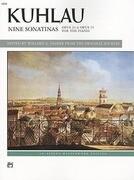 Kuhlau: Nine Sonatinas: Opus 20 & Opus 55 for the Piano