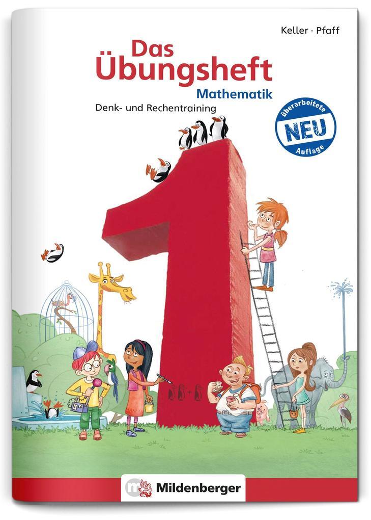 Das Übungsheft Mathematik 1 als Buch (geheftet)