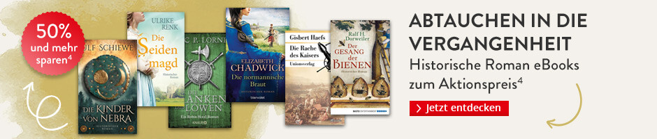Abtauchen in die Vergangenheit: Historische Roman eBooks reduziert bei Hugendubel