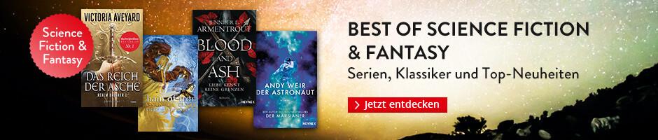 Best of Science Fiction & Fantasy: Serien, Klassiker und die besten Neuerscheinungen bei Hugendubel