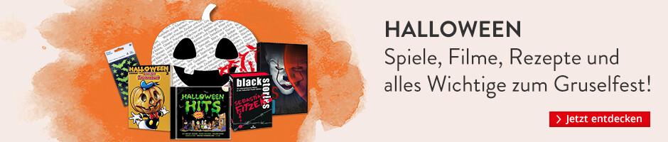 Halloween - Spiele, Filme, Rezepte und alles Wichtige zum Gruselfest