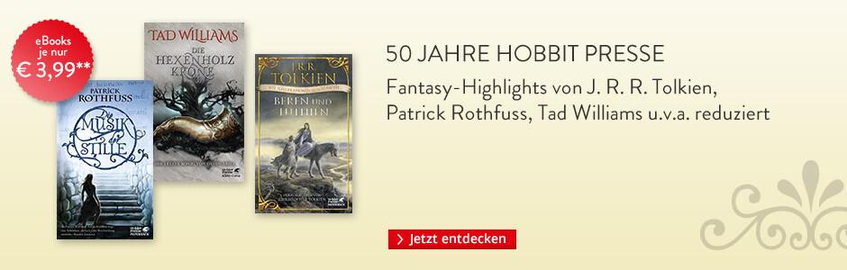 50 Jahre Hobbit Presse bei Hugendubel: Fantasy-Highlights reduziert