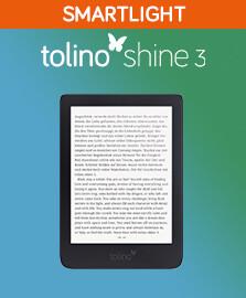 Entdecken Sie den tolino shine 3