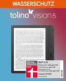 Entdecken Sie den tolino vision 5