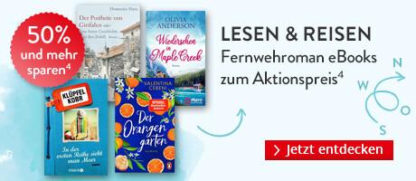 Lesen & reisen: Fernwehroman eBooks zum Aktionspreis bei Hugendubel