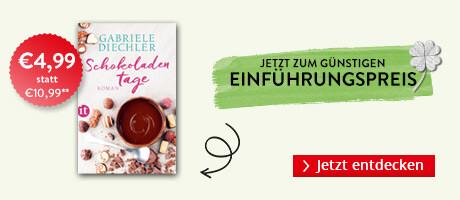 Zum Einführungspreis bei Hugendubel: Schokoladentage von Gabriele Diechler