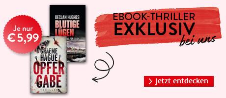 Exklusiv bei Hugendubel.de: Sechs spannende Krimis & Thriller