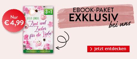 Exklusiv bei Hugendubel:  Zimt und Zucker für die Liebe: Drei Romane in einem eBook von Stella Conrad