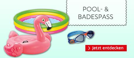 Pool- und Badespaß