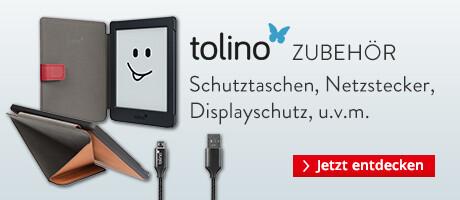 tolino Zubehör - Taschen, Hüllen, Netzstecker & Co