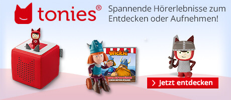 tonies® - das Audiosystem für Kinderhörspiele