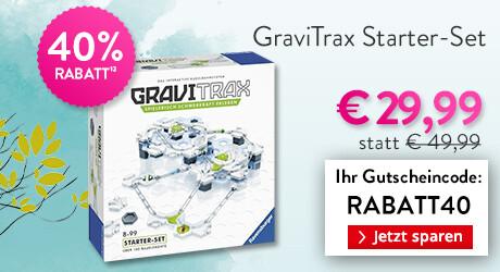 Jetzt 40% sparen auf das Gravitrax Starterset!