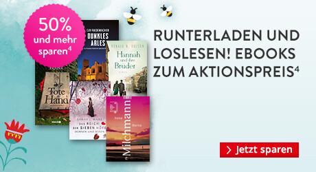 Einfach runterladen und loslesen: eBooks zum Aktionspreis für richtig viele Lesestunden bei Hugendubel