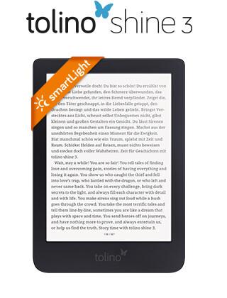 eReader tolino shine 3: Smarter Lesen im handlichen Format