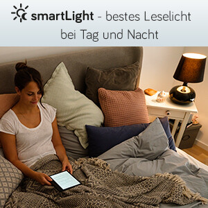 smartLight - bestes Leselicht bei Tag und Nacht