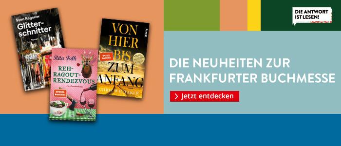 Die Neuheiten zur Frankfurter Buchmesse