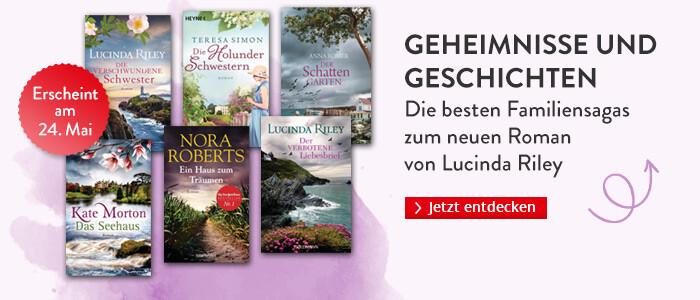 Geheimnisse und Geschichten: Die besten Familiensagas zum neuen Roman von Lucinda Riley bei Hugendubel