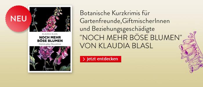 Noch mehr böse Blumen von Klaudia Blasl bei Hugendubel