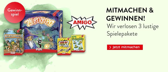 Gewinnen Sie ein Spielepaket von Amigo!