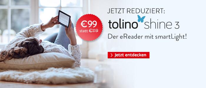 eReader tolino shine 3 zum Aktionspreis