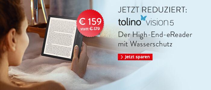 eReader tolino vision 5 nur € 159