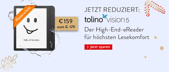 eReader tolino vision 5 jetzt nur € 159