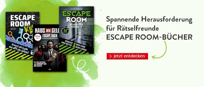 Escape Bücher - Spannende Unterhaltung für Rätselfreunde