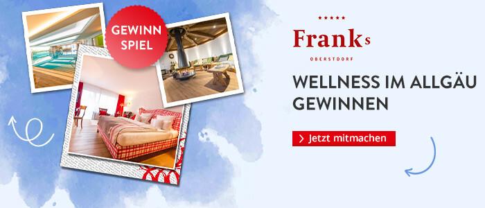 Wellness Urlaub im Allgäu gewinnen