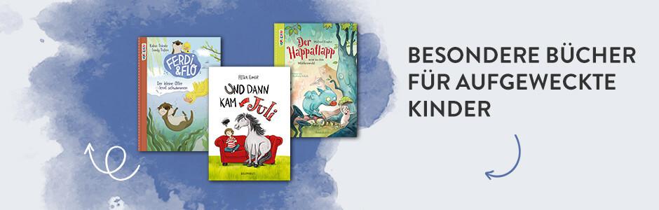 Bücher für aufgeweckte Kinder