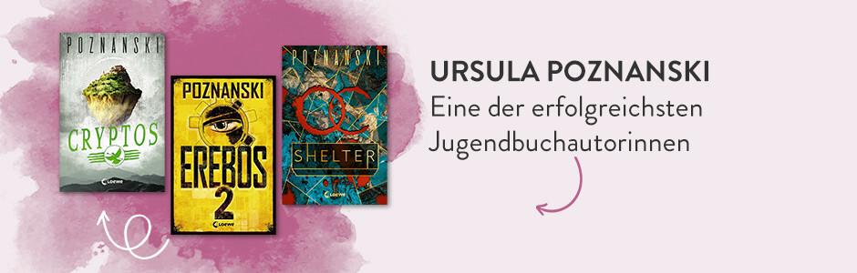 Kinder- und Jugendbücher von Ursula Poznanski