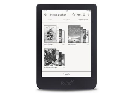 tolino shine 3 - Viel Speicherplatz & Riesenauswahl mit über 2 Mio eBooks